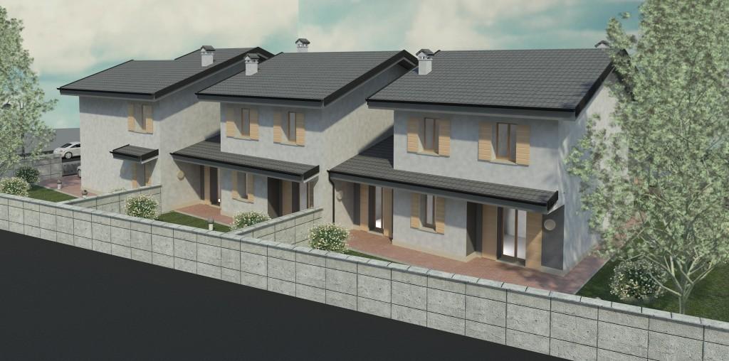 Vista 3d 10 edilcrea for Villette a schiera moderne