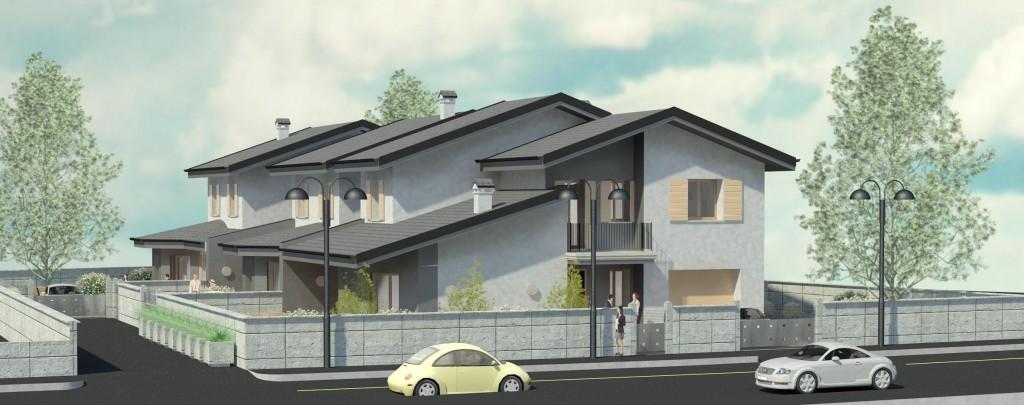 Villetta moderna great casa passiva moderna con struttura for Villette design moderno