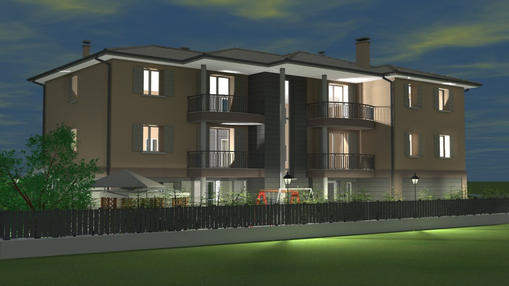 Appartamenti in classe a edilcrea for Palazzine moderne